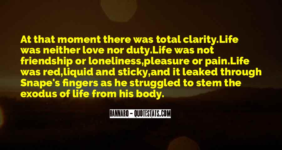 Quotes About Clarity In Love #1155715