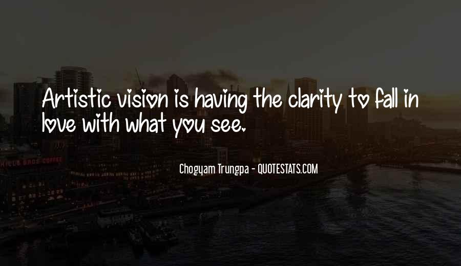 Quotes About Clarity In Love #1282224
