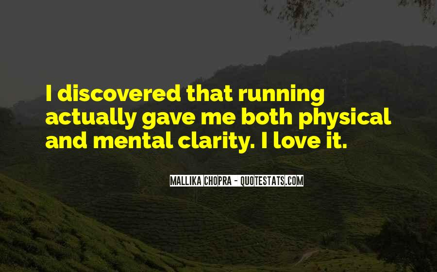 Quotes About Clarity In Love #1329609