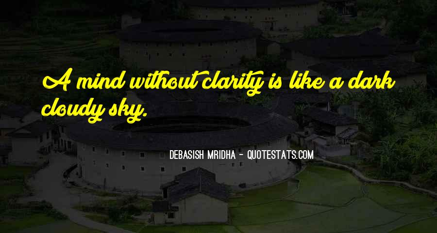 Quotes About Clarity In Love #1412751