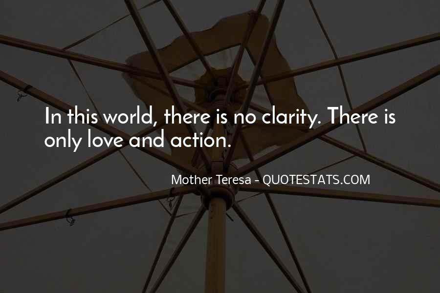 Quotes About Clarity In Love #170770