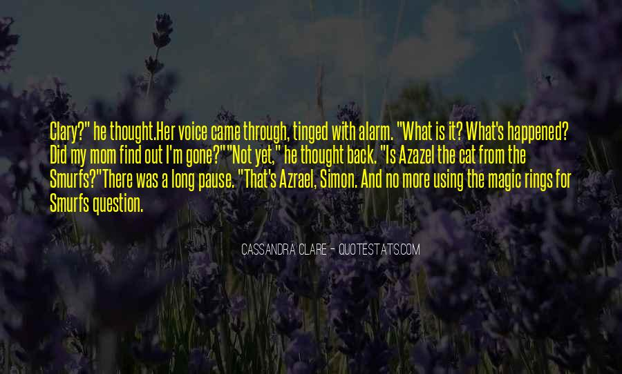 Quotes About Clare #11999