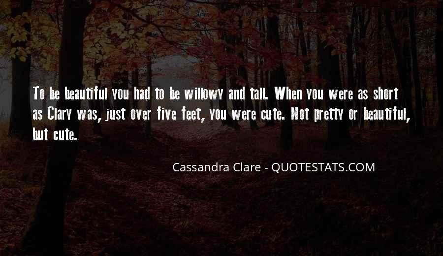 Quotes About Clare #16722