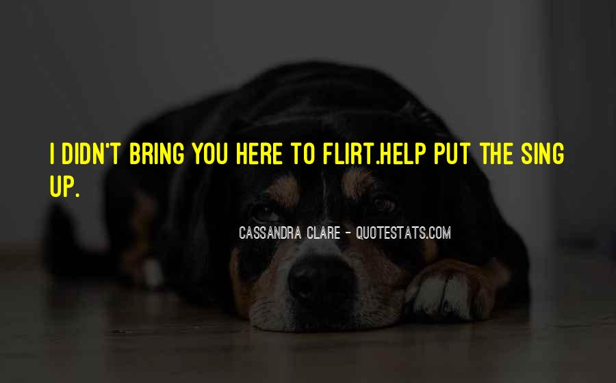 Quotes About Clare #18245