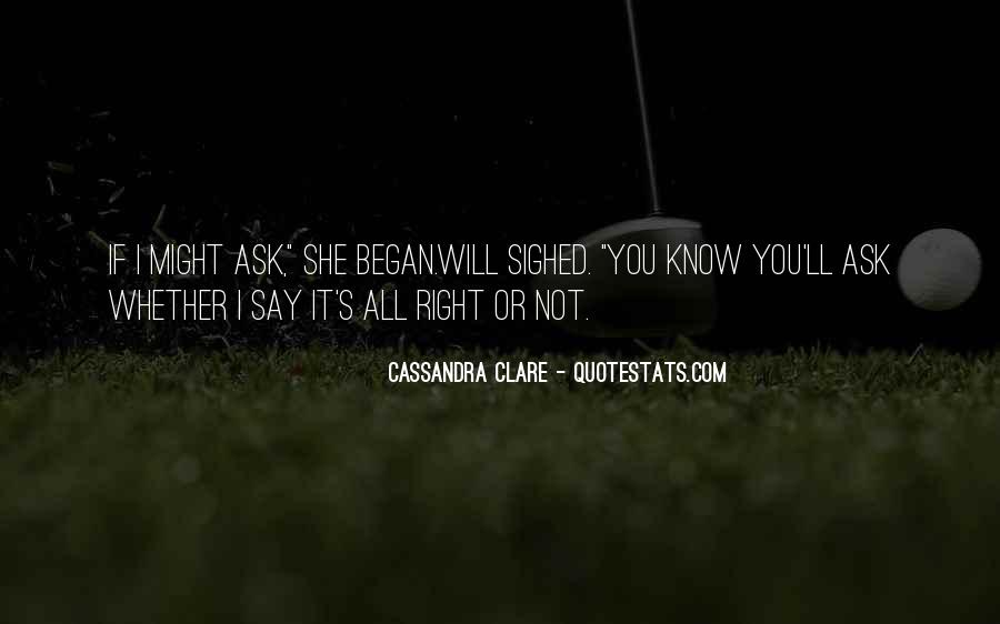 Quotes About Clare #39494