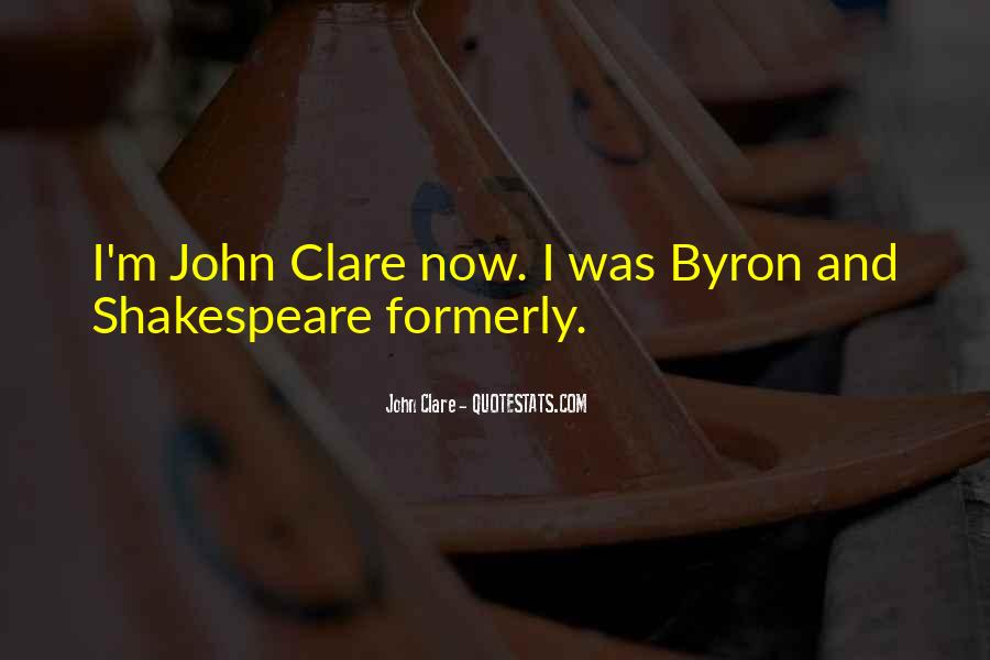 Quotes About Clare #39961