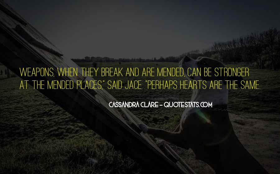 Quotes About Clare #4863