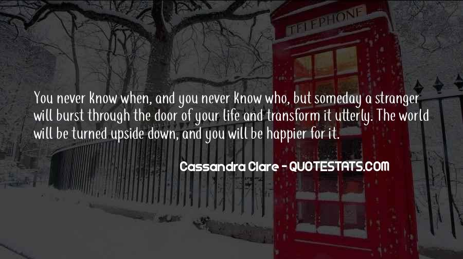 Quotes About Clare #49190