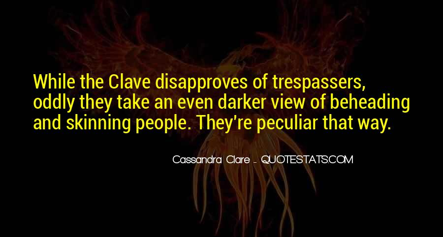 Quotes About Clare #52297