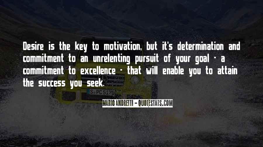 Motivation Key To Success Quotes #1596275