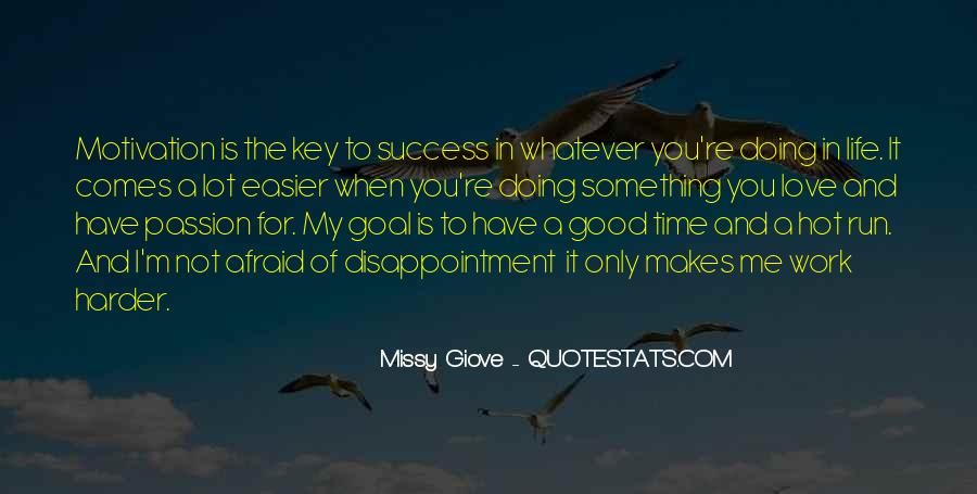 Motivation Key To Success Quotes #428504