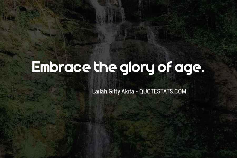 Motivational Age Quotes #113109