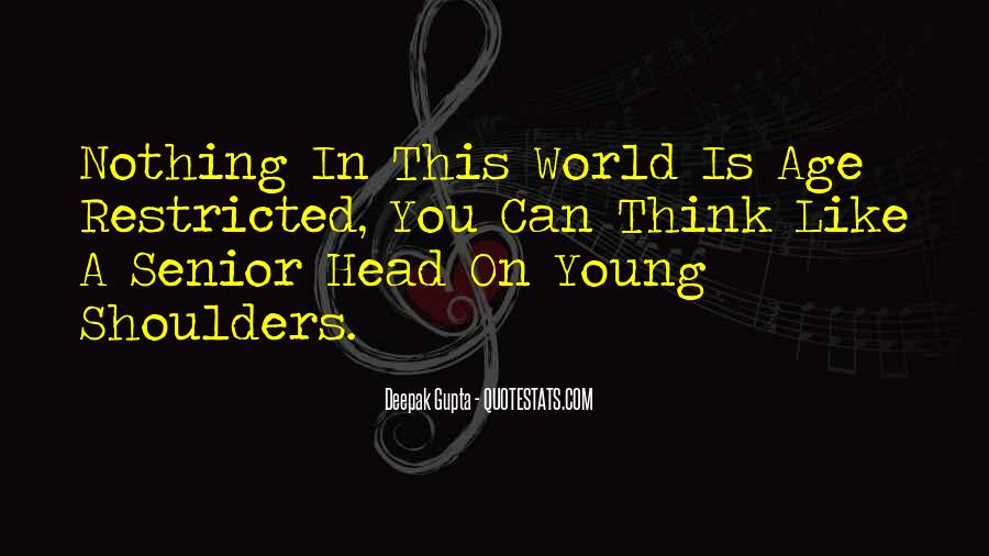 Motivational Age Quotes #720518