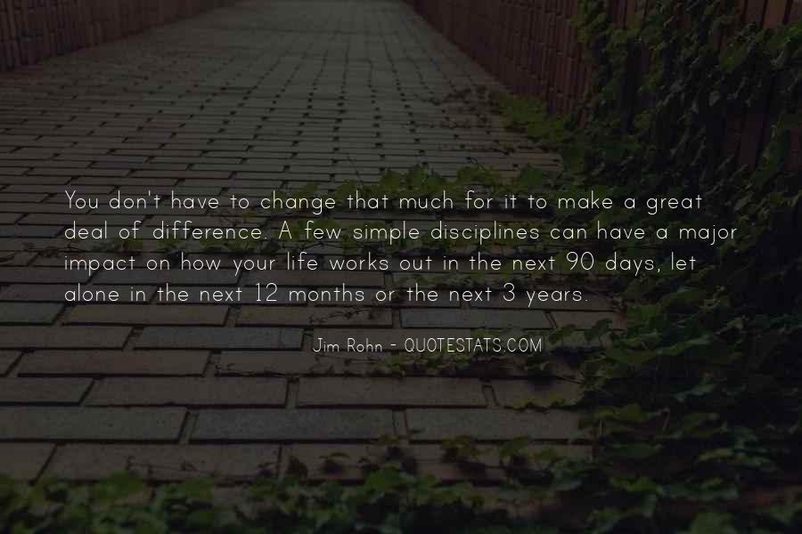 Motivational Change Your Life Quotes #372263
