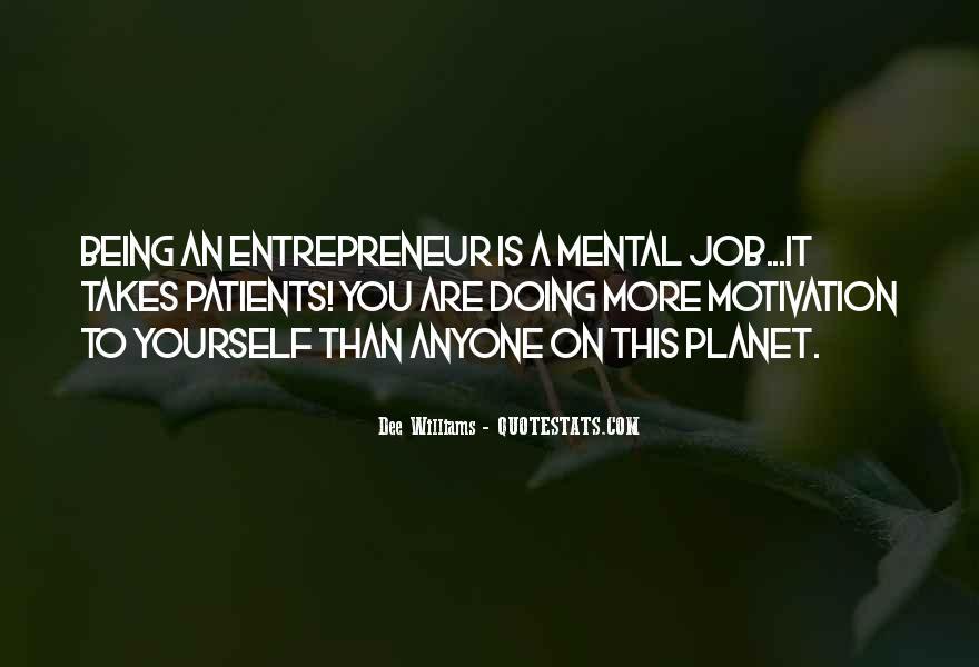 Motivational Entrepreneur Quotes #19767