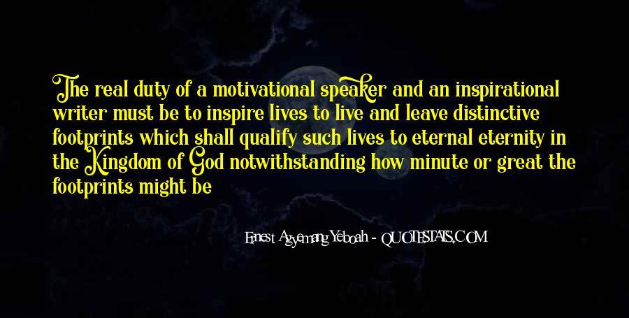 Motivational Speaker Quotes #1088473