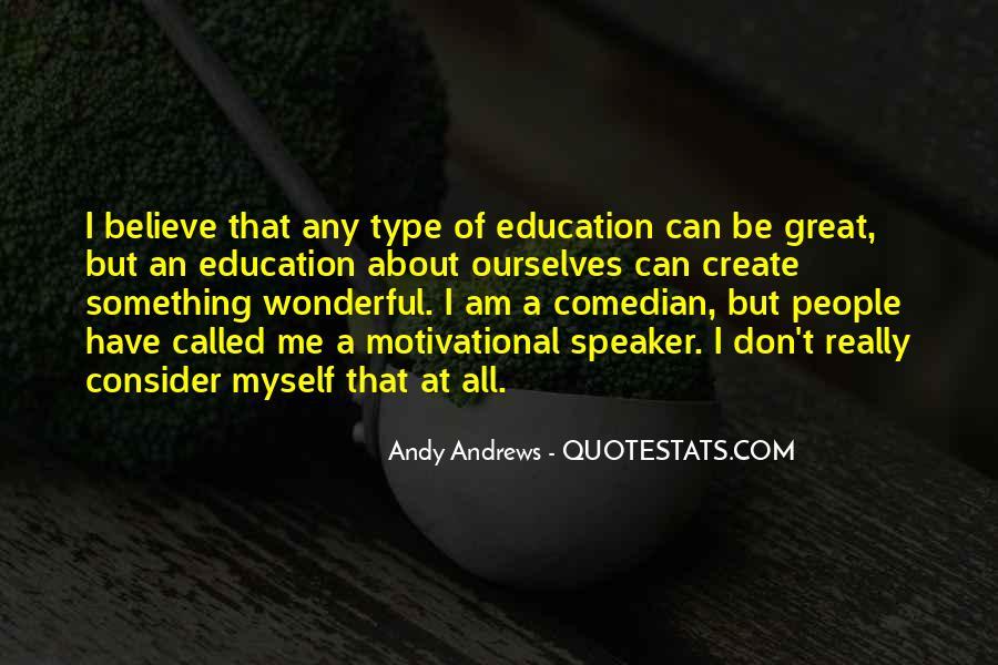 Motivational Speaker Quotes #163695