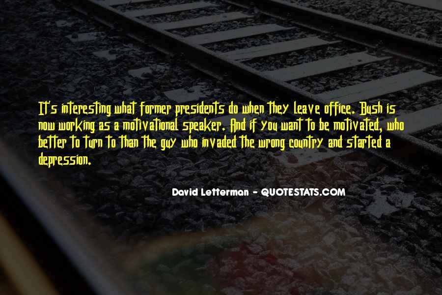Motivational Speaker Quotes #45277