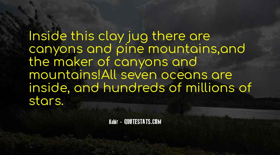 Mountains And Oceans Quotes #427240