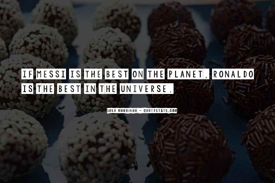 Mourinho Best Quotes #1423926