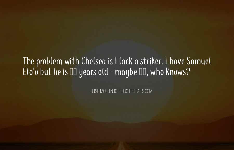 Mourinho Best Quotes #209628