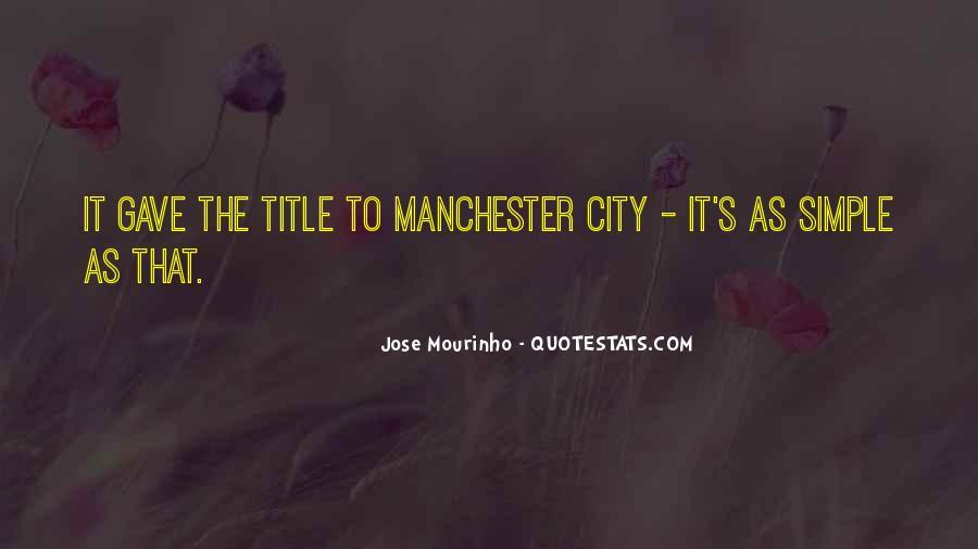 Mourinho Best Quotes #231621