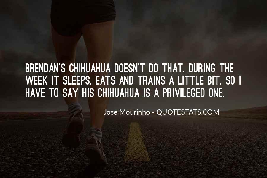 Mourinho Best Quotes #306914