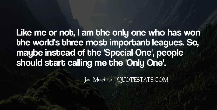 Mourinho Best Quotes #348530
