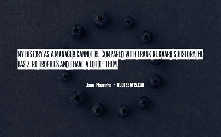 Mourinho Best Quotes #396842