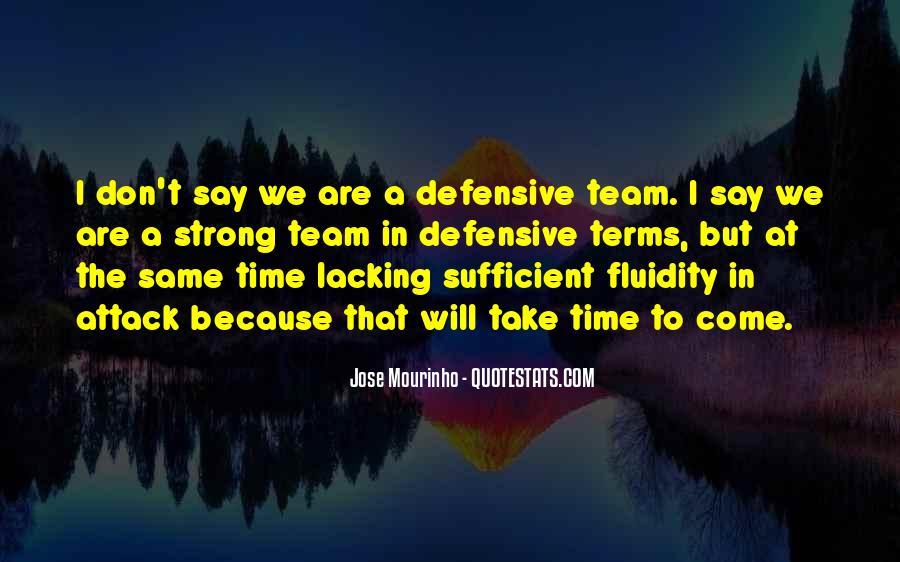 Mourinho Best Quotes #502641