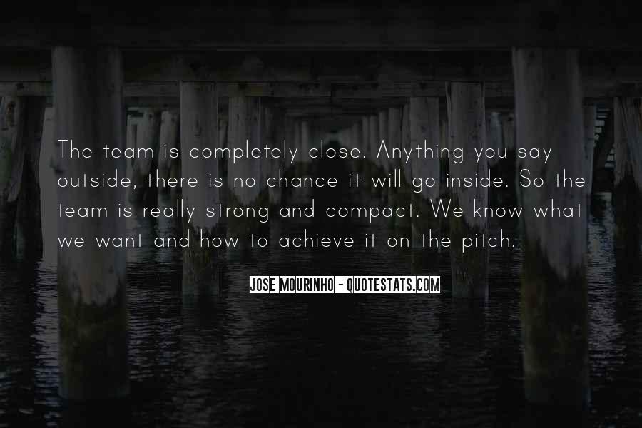 Mourinho Best Quotes #638338