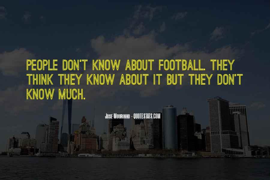 Mourinho Best Quotes #658797