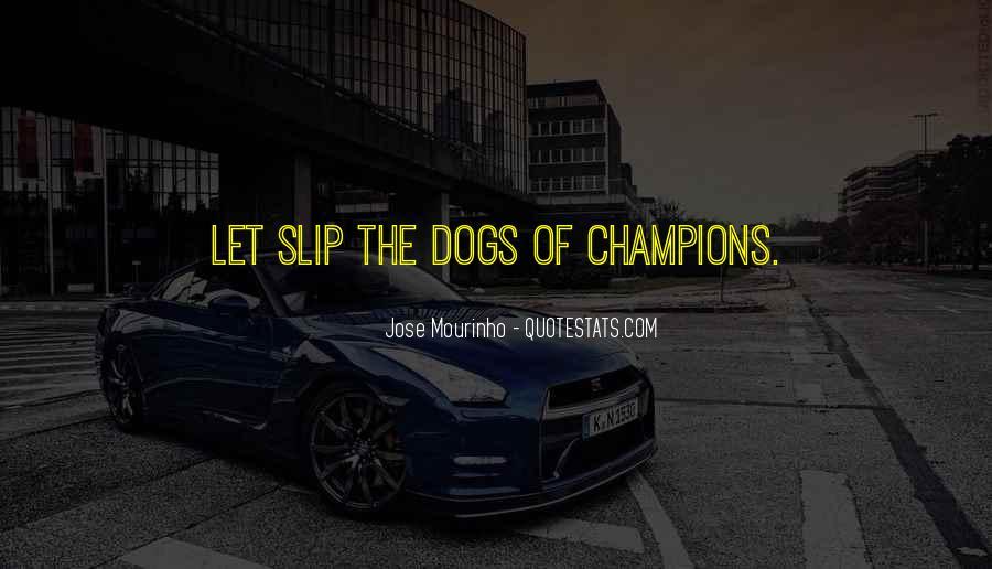 Mourinho Best Quotes #660885