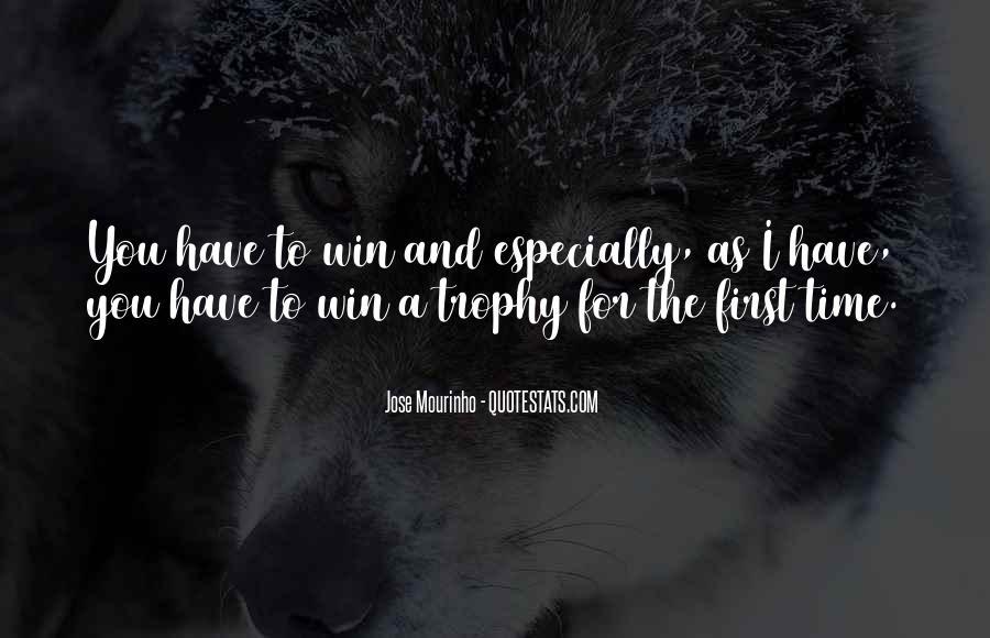 Mourinho Best Quotes #672596