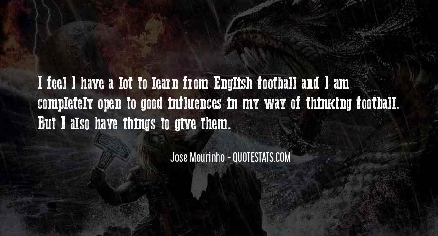 Mourinho Best Quotes #683090