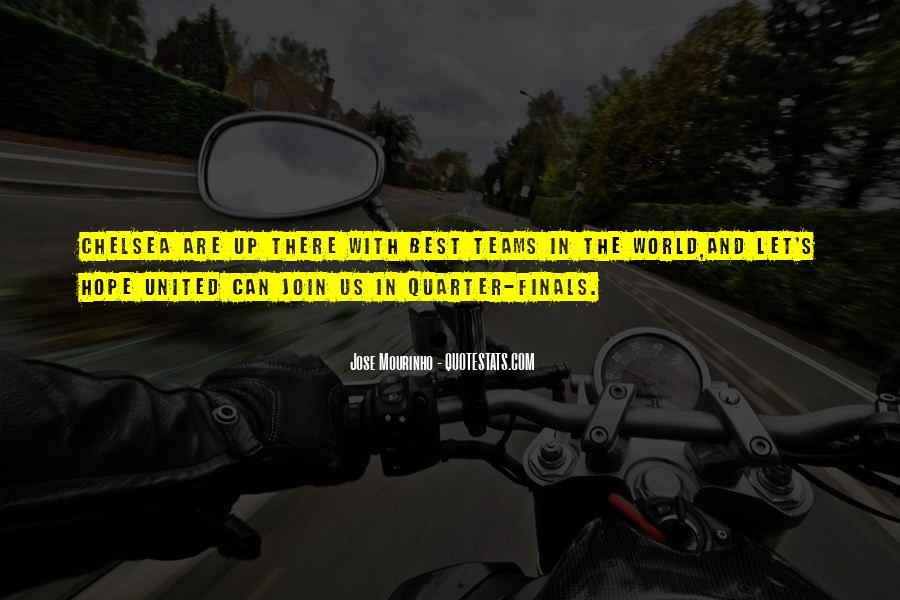 Mourinho Best Quotes #919685