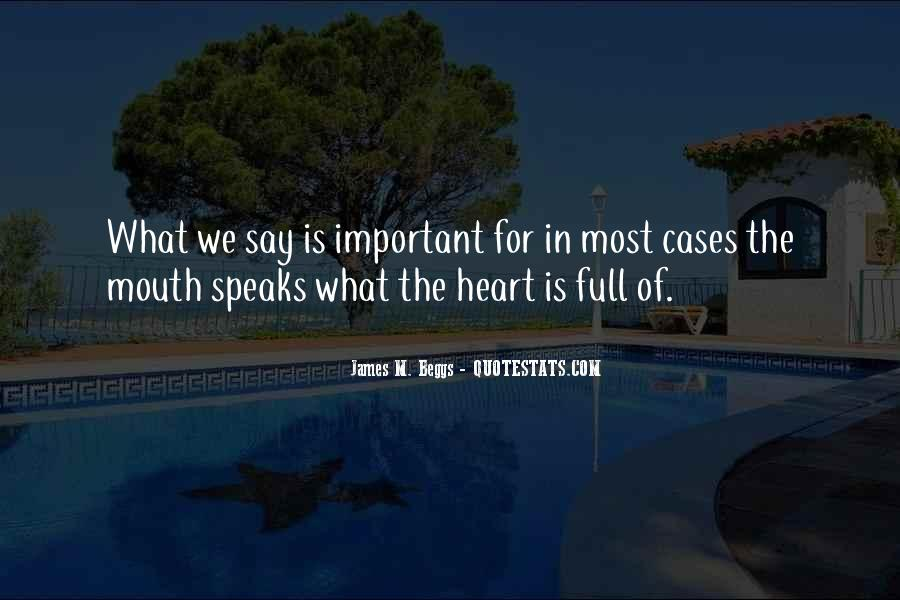 Mouth Full Quotes #124017
