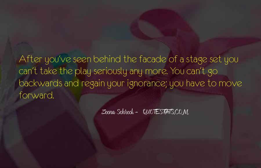 Move Forward Not Backwards Quotes #931061