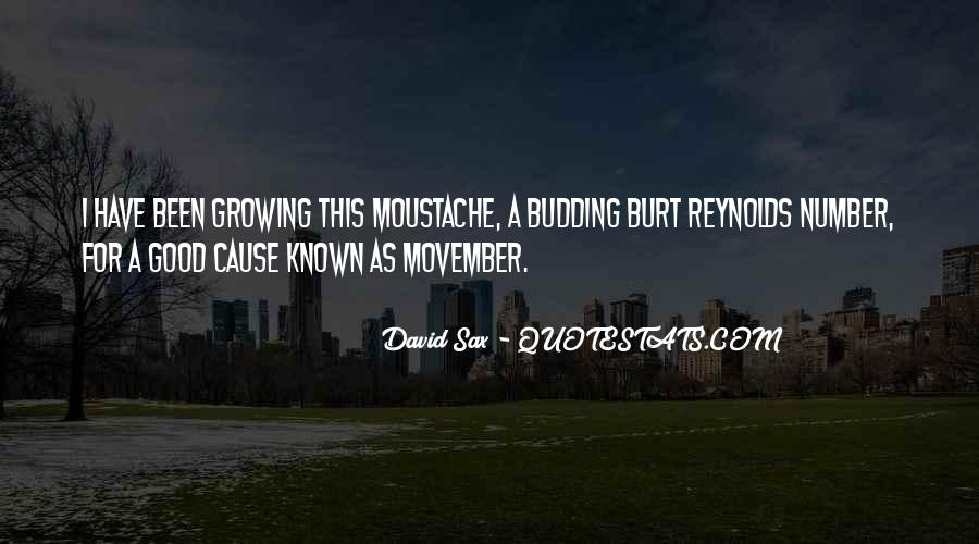 Movember Moustache Quotes #539088