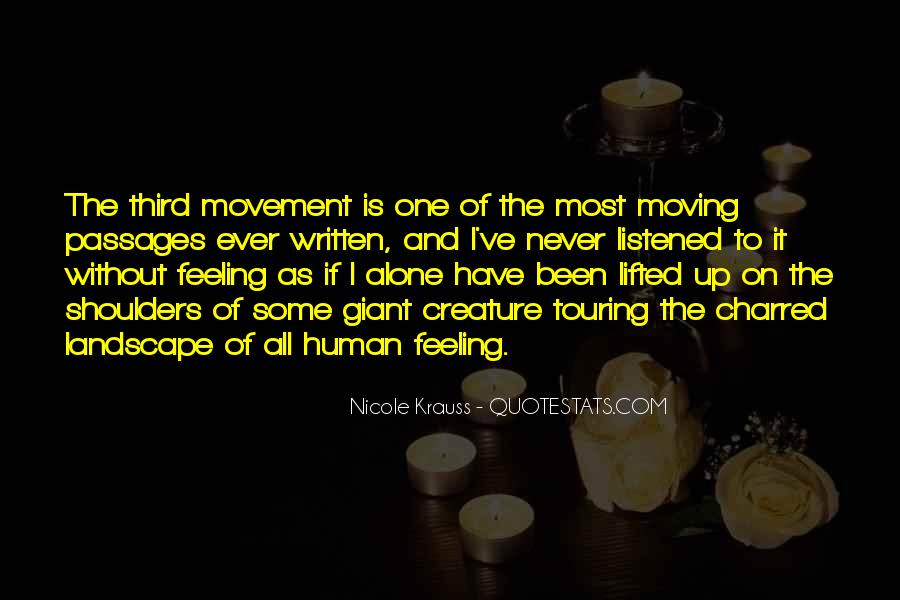 Moving On Up Quotes #328382