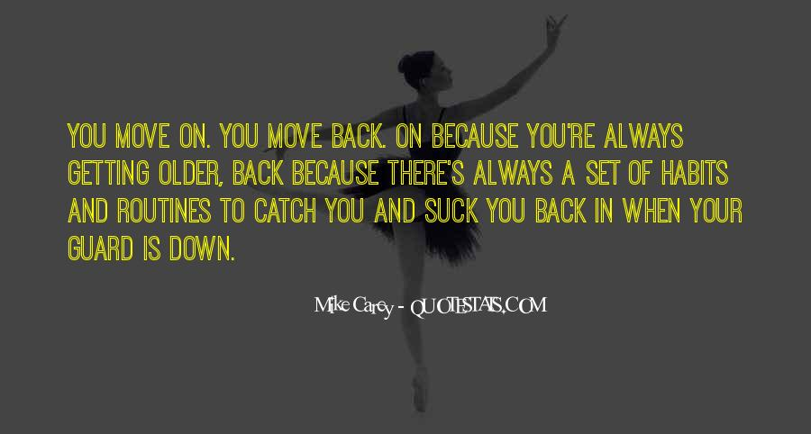 Moving On Up Quotes #696910