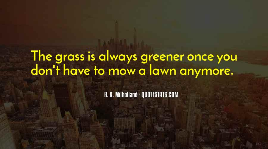Mow Lawn Quotes #243767