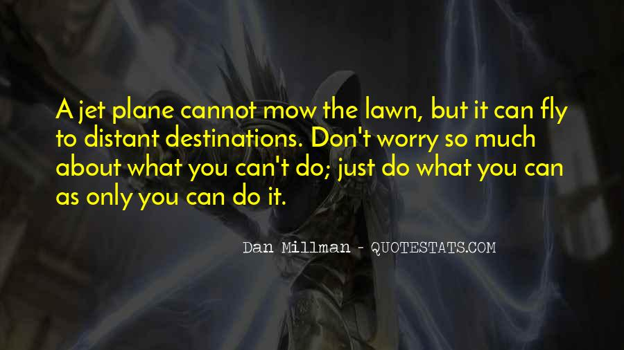 Mow Lawn Quotes #873049