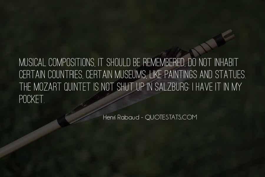 Mozart Salzburg Quotes #1806642