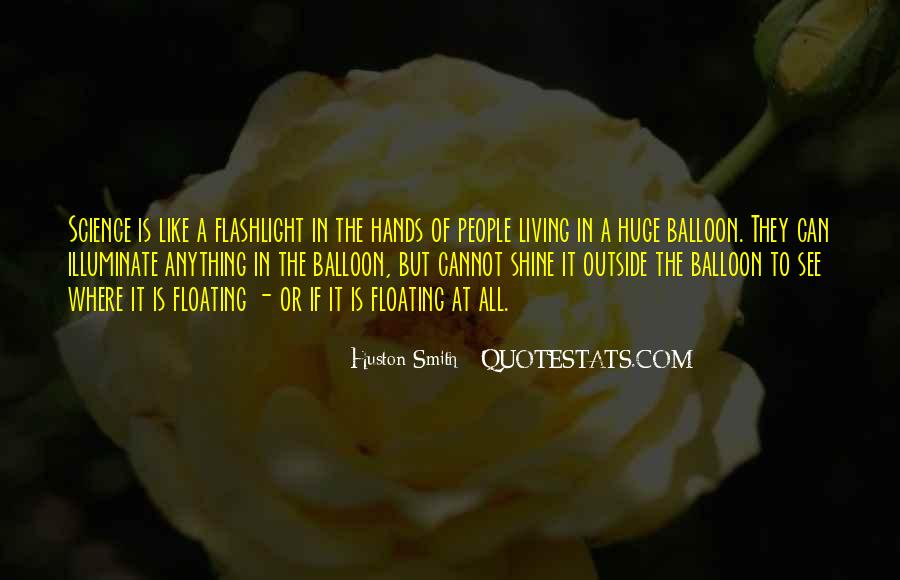 Mr Balloon Hands Quotes #213862