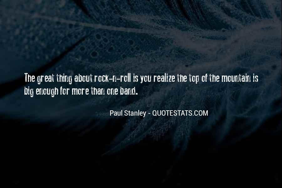 Mr Big Band Quotes #13201