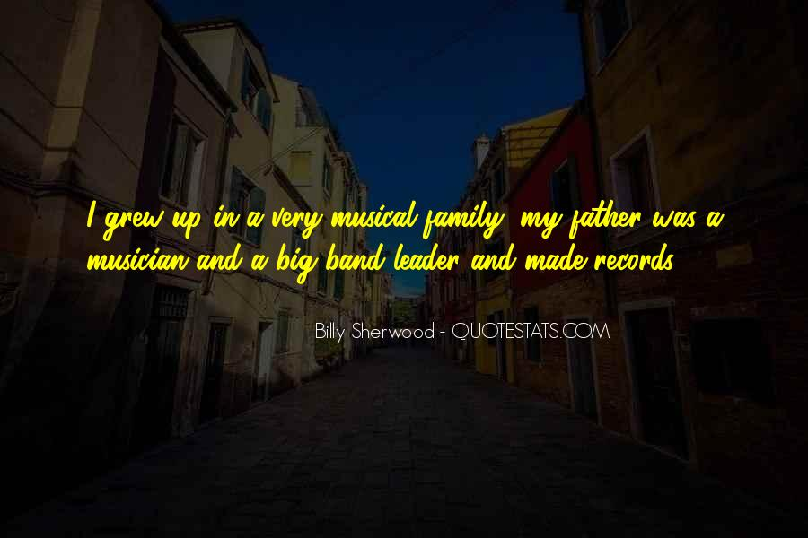 Mr Big Band Quotes #232322
