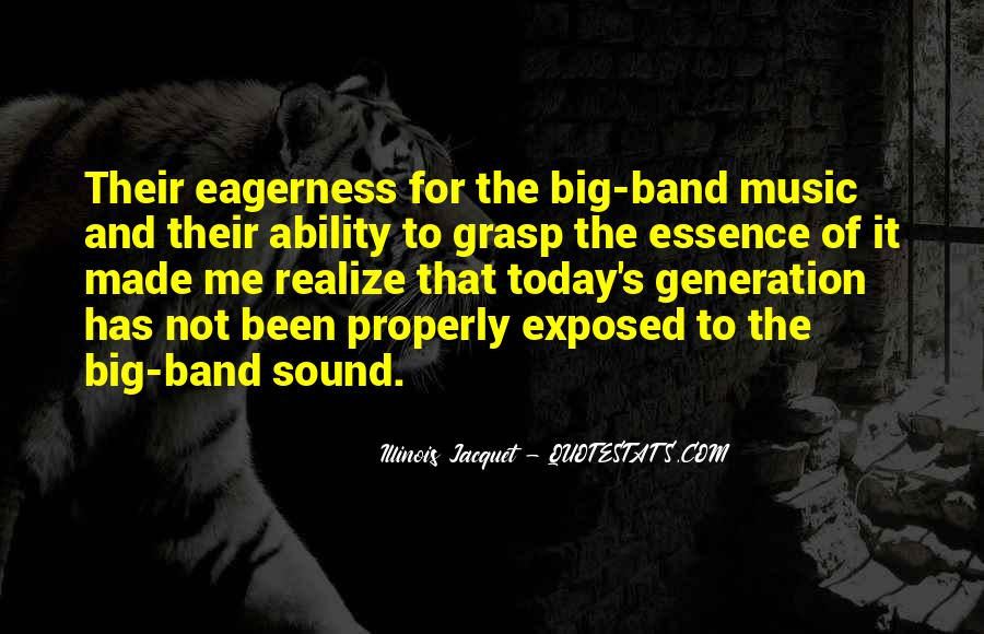 Mr Big Band Quotes #356536