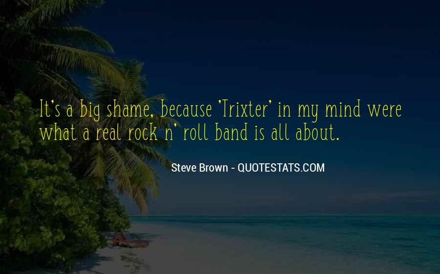 Mr Big Band Quotes #392552
