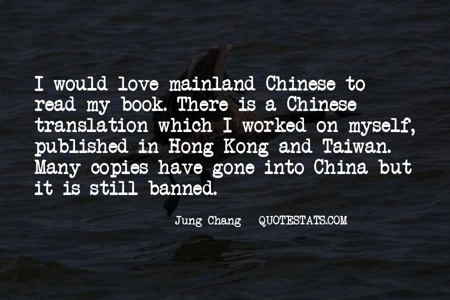 Mr Chang Quotes #30963